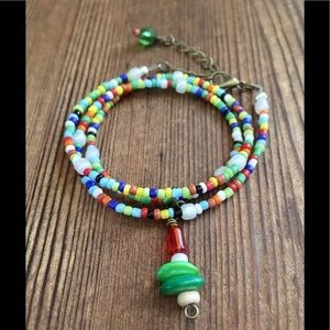Ladies Multi-Color Beaded Necklace  *2 For $10*